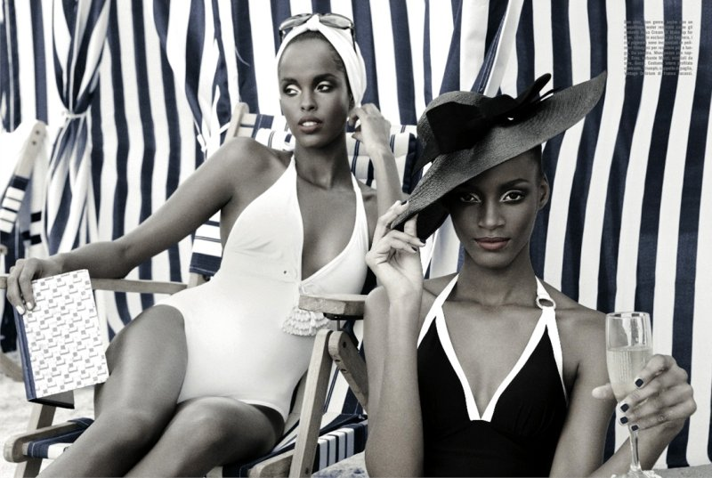 vogue-italia-tanning-black-models-beach