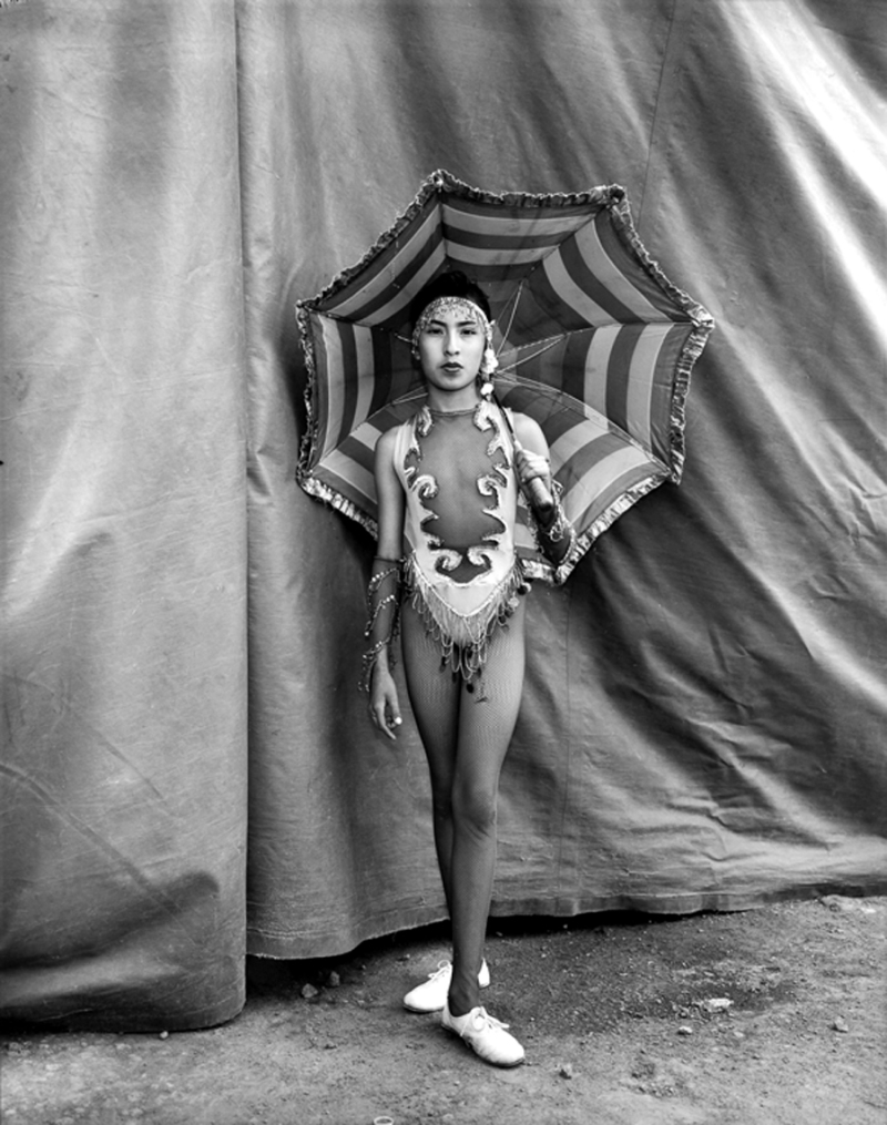 Belen, Tightrope Walker, Garzetti Circus, Mexico 1997