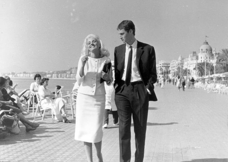 Raymond Cauchetier, Jeanne Moreau et Claude Mann sur le tournage de La Baie des Anges